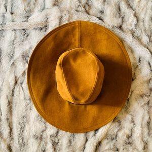 Zara oversized brim hat